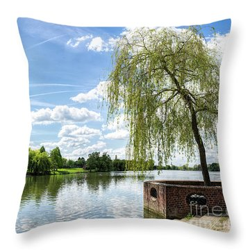 Muenster Aasee Throw Pillow