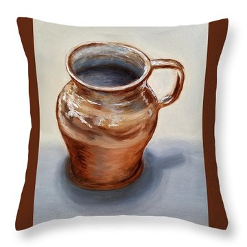 Mug Throw Pillow