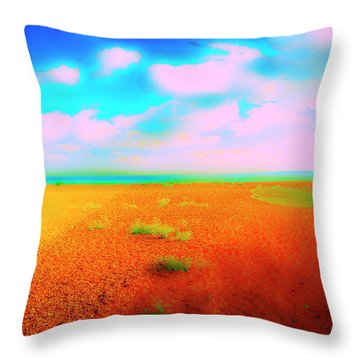 Mulberry Land Throw Pillow