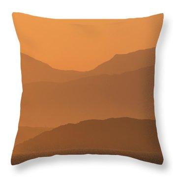 Mull Sunrise Throw Pillow
