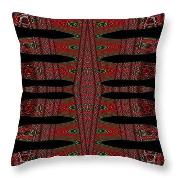 Multi Design Two Throw Pillow