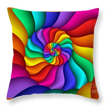 Multichrome 15  Throw Pillow