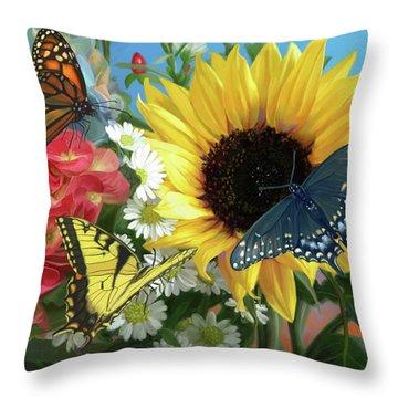 Multicolor Throw Pillow
