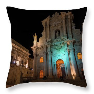 Multicolored Midnight - Throw Pillow