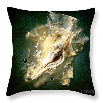 Multidimensional Finds Throw Pillow