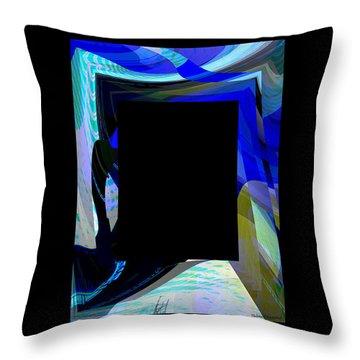 Multidimension Throw Pillow by Thibault Toussaint