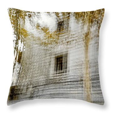 Multiplex Fall Throw Pillow by Linde Townsend