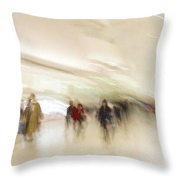 Multitudes Throw Pillow