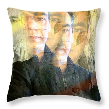 Multiverse Throw Pillow by Prakash Ghai