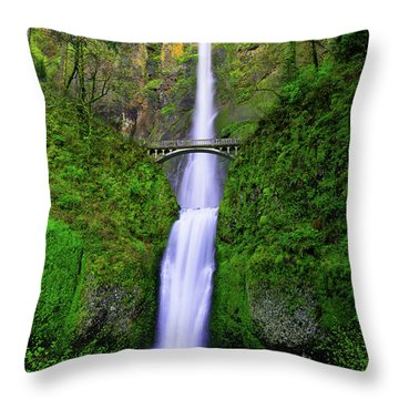 Multnomah Dream Throw Pillow
