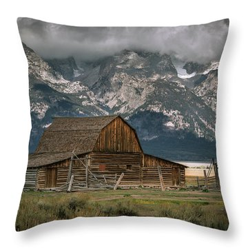 Multon Barn Throw Pillow