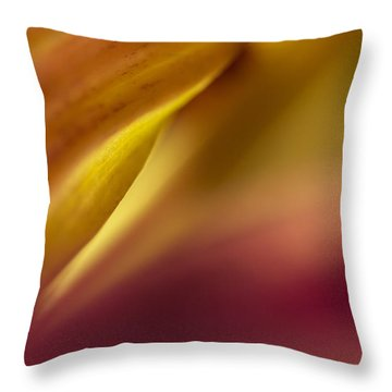 Mum Abstract Throw Pillow