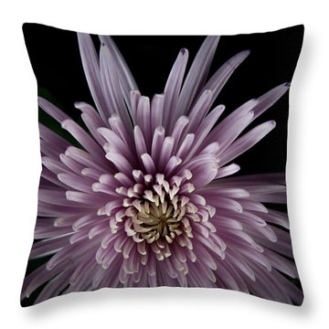 Throw Pillow featuring the photograph Mum by Eric Christopher Jackson