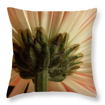 Mum From Below Throw Pillow