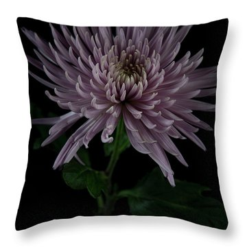 Throw Pillow featuring the photograph Mum, No.3 by Eric Christopher Jackson