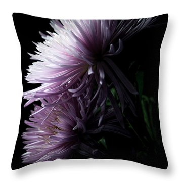 Throw Pillow featuring the photograph Mum, No.6 by Eric Christopher Jackson