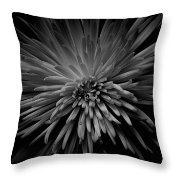 Throw Pillow featuring the photograph Mum. No.7 by Eric Christopher Jackson
