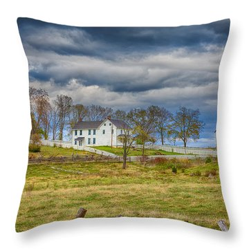 Mumma Farm Throw Pillow