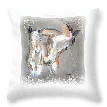 Mummy Christmas Throw Pillow