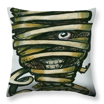 Mummy  Throw Pillow