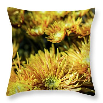 Mum's The Word I Throw Pillow