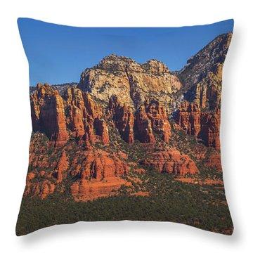 Munds Mountain Panorama Throw Pillow