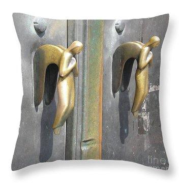 Munich Angels Throw Pillow