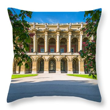 Throw Pillow featuring the photograph Munich Impression 4 by Juergen Klust