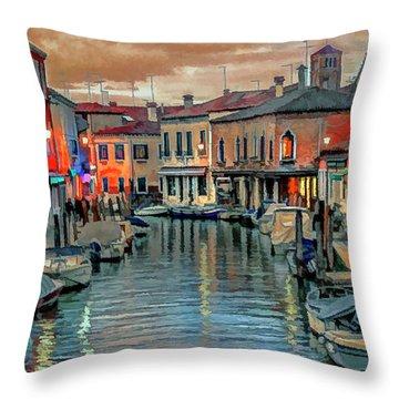 Murano Twilight Throw Pillow