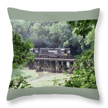 Murphy Branch Freight Throw Pillow