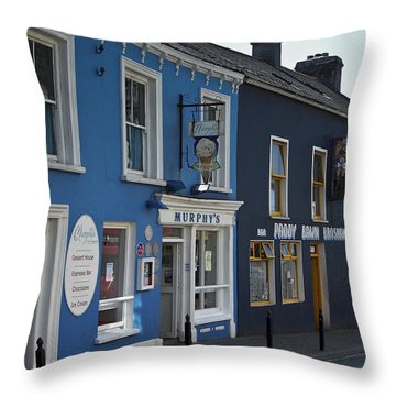 Murphys Ice Cream Dingle Ireland Throw Pillow