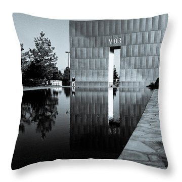 Murrah I Throw Pillow