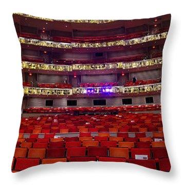 Murrel Kauffman Theater Throw Pillow