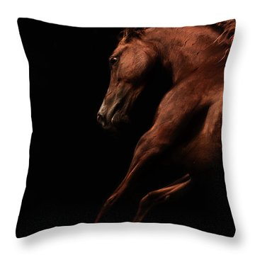 Muscle And Motion Throw Pillow
