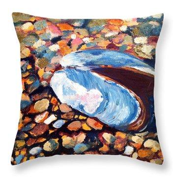 Muscle Beach Throw Pillow