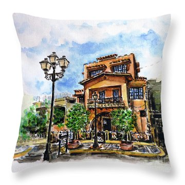 Museo De Archivo E Historia De Bayamon Throw Pillow