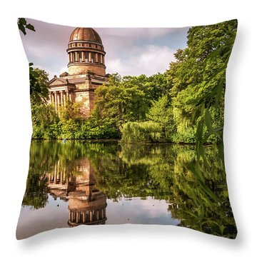 Museum At The Zoo Throw Pillow