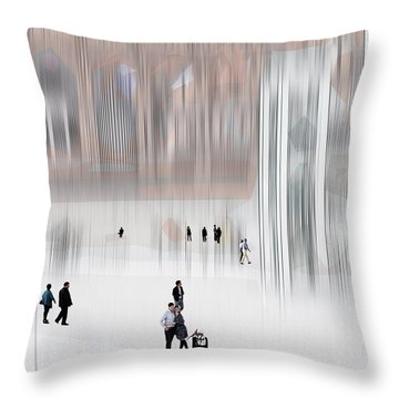 Museum Of Nothing Throw Pillow