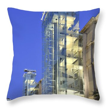 Museum Reina Sofia  Throw Pillow by Marek Stepan