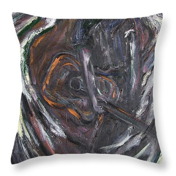 Music Angel Of Broken Wings Throw Pillow