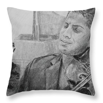 Music For The Soul Throw Pillow by Quwatha Valentine