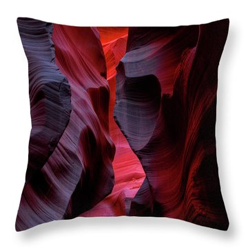 Music, Frozen In The Rocks 5 Throw Pillow
