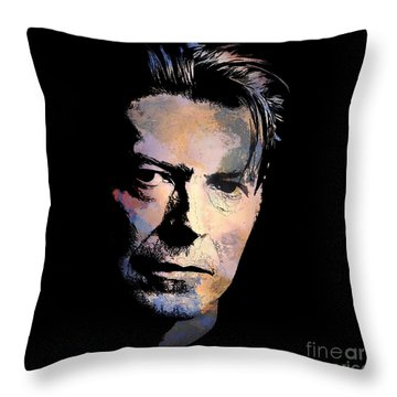 Music Legend. Throw Pillow