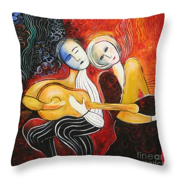 Music Lovers 2017 Throw Pillow