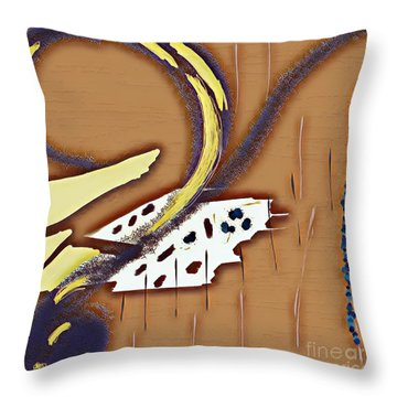 Music Note Throw Pillow