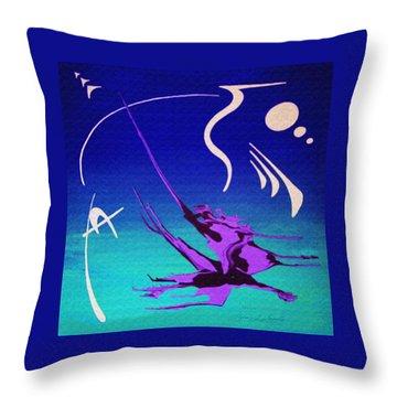 Music Of Ojas Throw Pillow