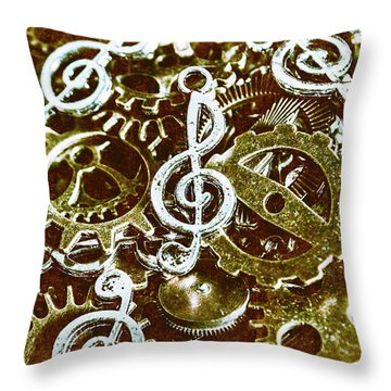 Music Production Throw Pillow