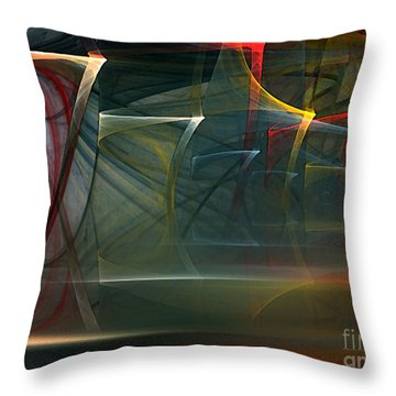 Music Sound Throw Pillow