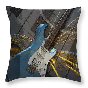 Musical Poster Throw Pillow