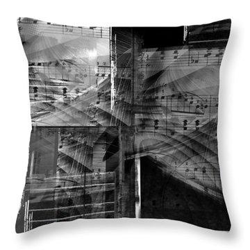 Musical Steps... Throw Pillow